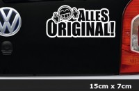 ALLES ORIGINAL JDM Shocker Sticker Bomb 15x7cm Aufkleber Auto - AG-0053