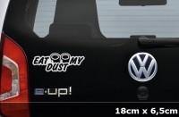 EAT MY DUST Aufkleber JDM Decal Sticker Shocker Tuning | AG-0045