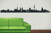 Wandtattoo München Skyline bis zu 180x32 cm WT-0014