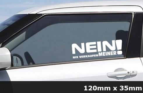 Nein Nix verkaufen Meiner JDM Sticker Bomb Aufkleber Auto - AG-0051