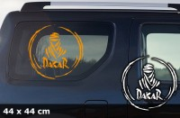 DAKAR Autoaufkleber | 44 x 44 cm | AG-0030