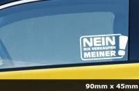 Nix Karte Nix verkaufen Meins JDM Sticker Aufkleber Auto 2 Stück AG-0050