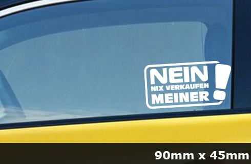 Nix Karte Nix Verkaufen Meins Jdm Sticker Aufkleber Auto 2 Stück Ag 0050