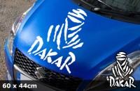 DAKAR Autoaufkleber | 60 x 44 cm | AG-0001