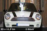 Streifen für Mini Cooper , Ford , Fiat , und andere Modelle | 2er Set | AG-0019