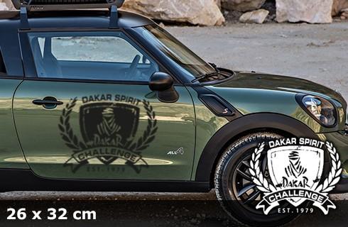 DAKAR Autoaufkleber | 26 x 32 cm | AG-0058