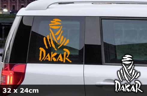 DAKAR Autoaufkleber | 32 x 24 cm | AG-0006
