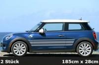 Mini Cooper Streifen Seitenstreifen, Sportstreifen, Stripes - | AG-0105