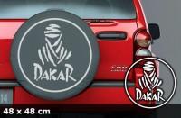 DAKAR Autoaufkleber | 48 x 48 cm | AG-0018