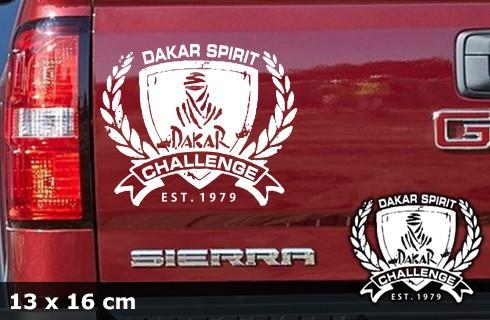 DAKAR Autoaufkleber | 13 x 16 cm | AG-0055
