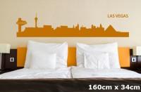 Wandtattoo LAS VEGAS Skyline 160 x 34cm WT-0030