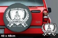 DAKAR Autoaufkleber | 40 x 48 cm | AG-0056