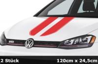 Sport Rennstreifen Motorhaube Aufkleber Dekorstreifen Rallye Streifen  | AG-0104