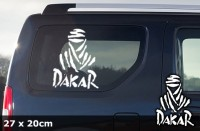DAKAR Autoaufkleber | 27 x 20 cm | AG-0025