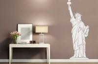 Wandtattoo NEW YORK LIBERTY Statue bis 240cm WT-0016