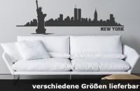 Wandtattoo New York Skyline bis zu 240 x 77 cm WT-0012