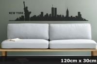 Wandtattoo NEW YORK Skyline 120 x 30cm WT-0011
