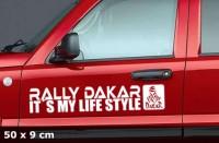 DAKAR Autoaufkleber | 50 x 9 cm | AG-0061