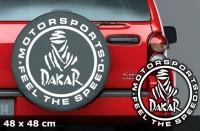 DAKAR Autoaufkleber Sonderedition | 48 x 48 cm | AG-0063