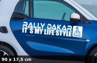DAKAR Autoaufkleber | 90 x 17,5 cm | AG-0060