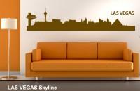 Wandtattoo LAS VEGAS Skyline 115 x 24cm WT-0029